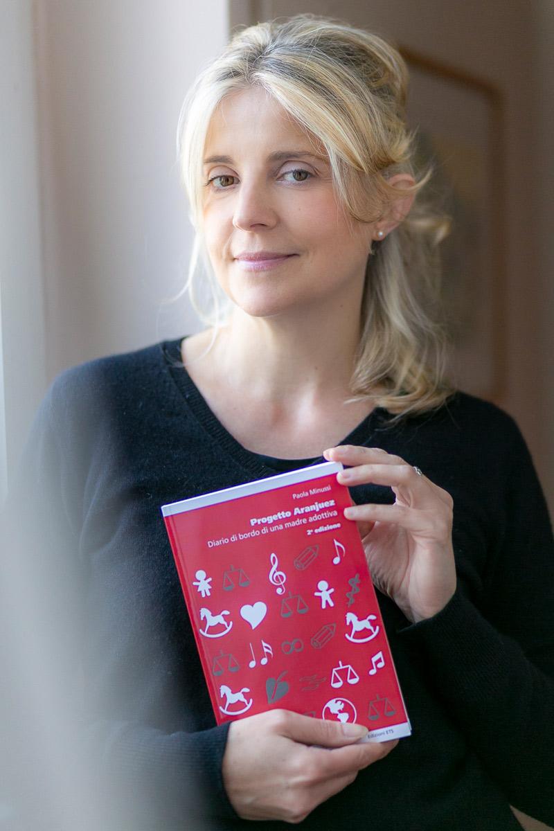 Progetto Aranjuez. Diario di bordo di una madre adottiva. Paola Minussi scrittrice, foto Alle Bonicalzi