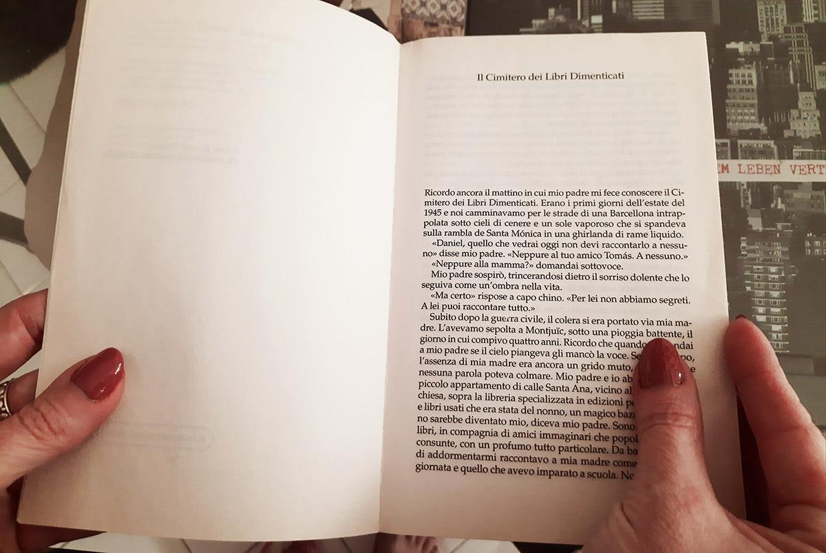 Paola Minussi legge L'ombra del vento